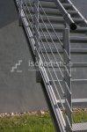 Zinkovaná schodnice MARBLE 1 m - pravá