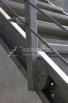 Zinkovaná schodnice POROROŠT 1 m - levá