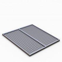 Podestový rošt SQUARE 800 x 1000 x 40 mm