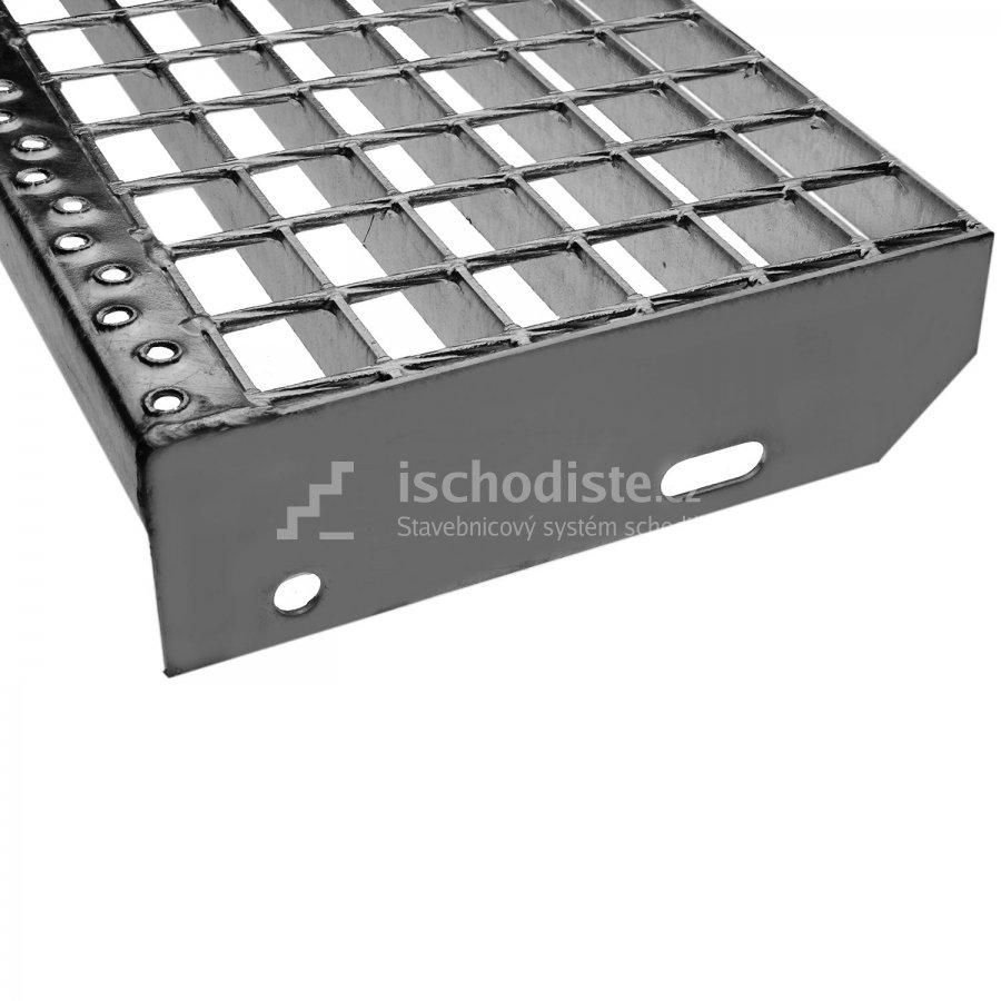 Schodišťový stupeň POROROŠT 1200 x 270 x 40 mm - 34/38 mm